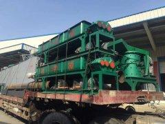 时产25-30t型煤压球机生产